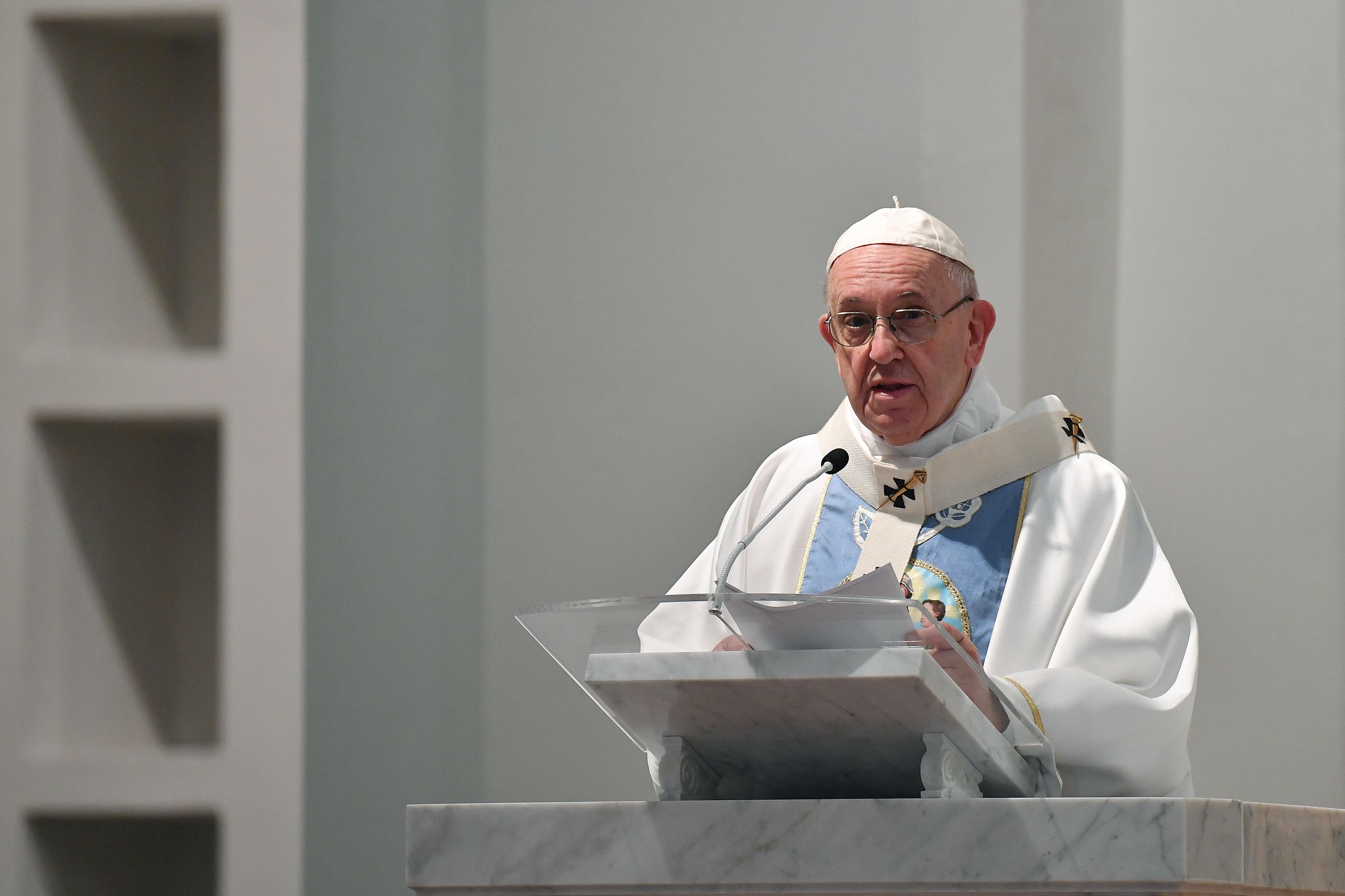 El papa Francisco se encuentra en Panamá para participar en la Jornada Mundial de la Juventud (JMJ). (Foto Prensa Libre: EFE)