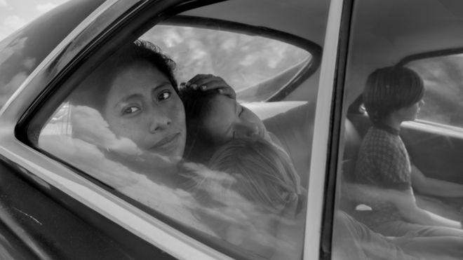 """Algunas personas que fueron a ver """"Roma"""" a una sala de cine en España se sorprendieron al ver que una película mexicana estaba subtitulada. (Netflix)"""