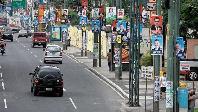 Las nuevas disposiciones en la Ley Electoral establece que el TSE se hará cargo de la pauta. (Foto Prensa Libre: Hemeroteca PL)