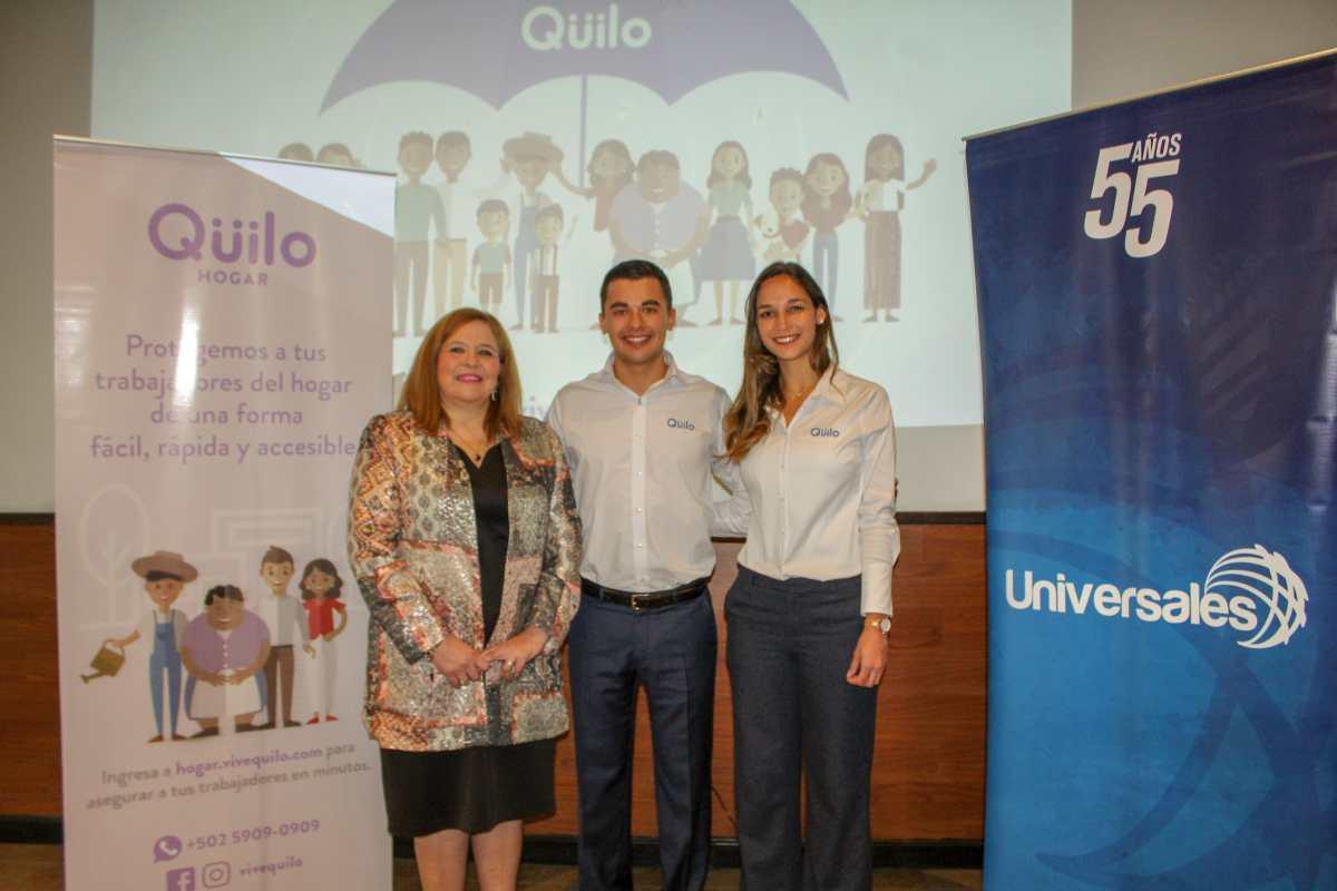 Presentan Qüilo, un seguro para trabajadores del hogar