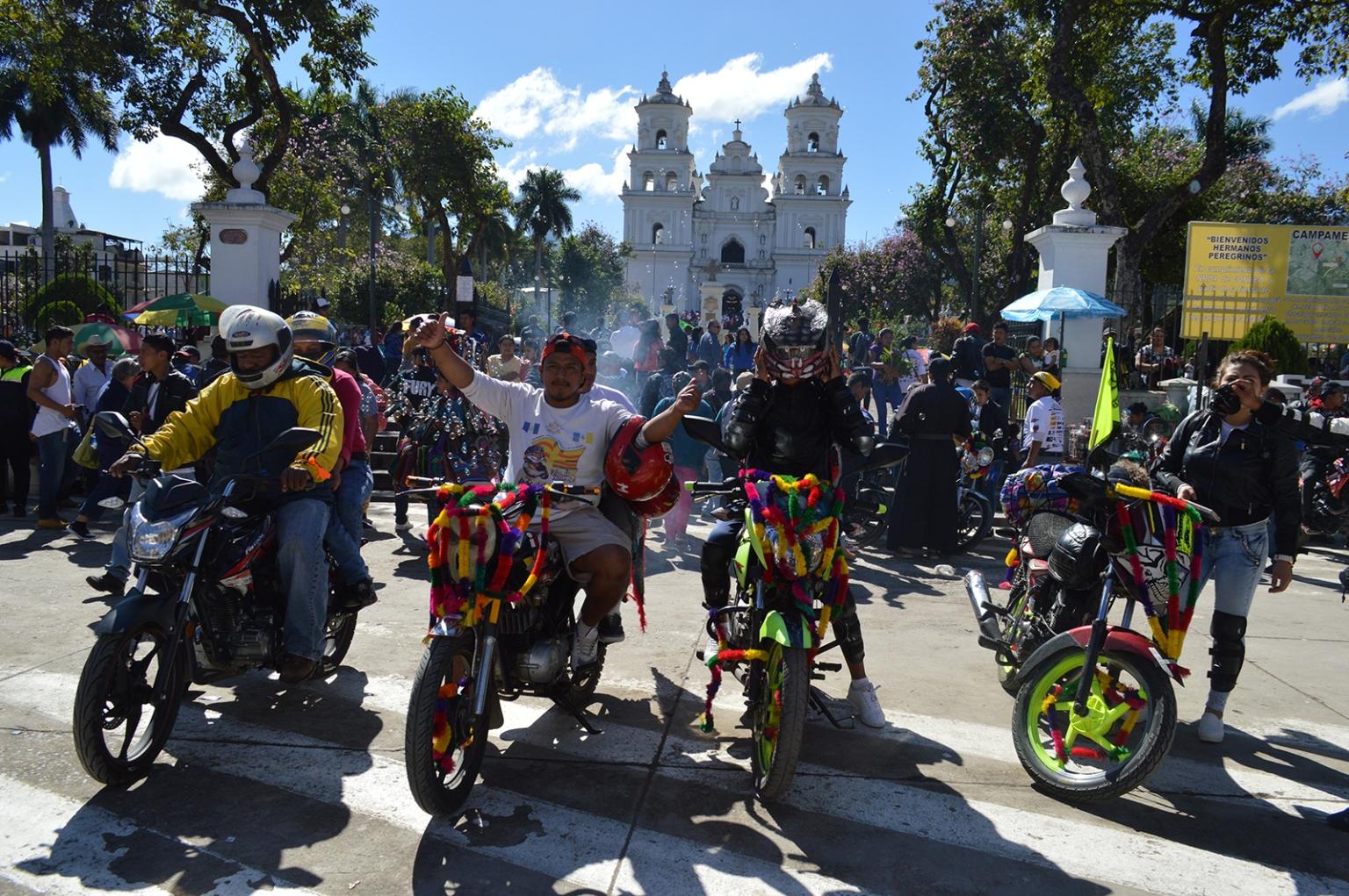 Se tiene previsto que miles de motoristas visiten la Basílica de Esquipulas el 2 de febrero próximo. (Foto Prensa Libre: Mario Morales).
