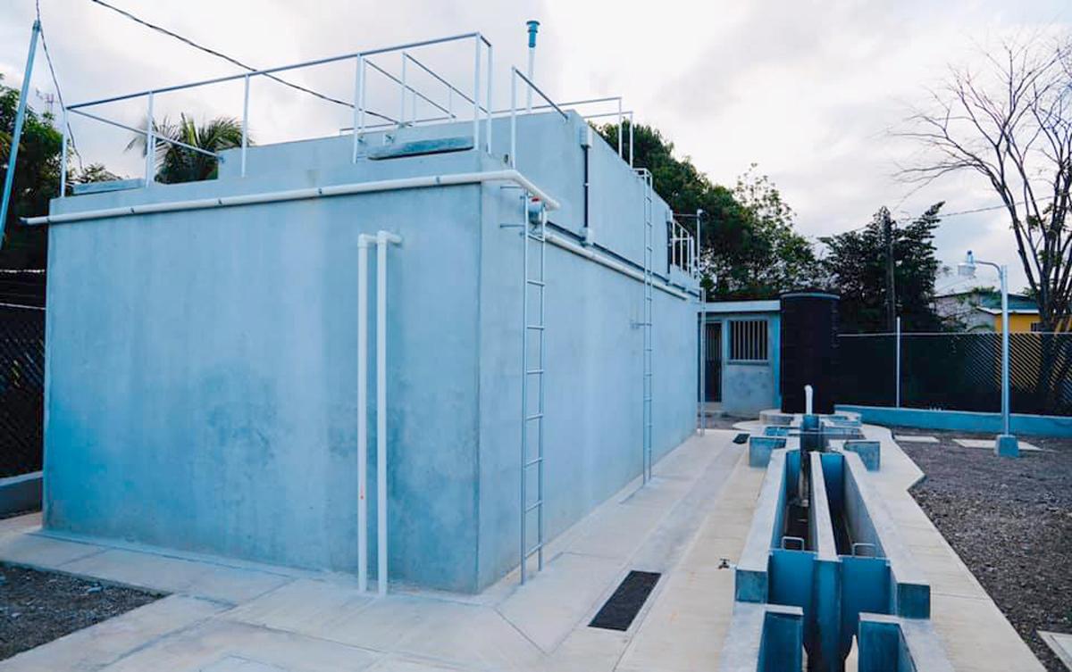 Una de las plantas de tratamiento habilitada en el área urbana de Puerto Barrios, Izabal. (Foto Prensa Libre: César Hernández).