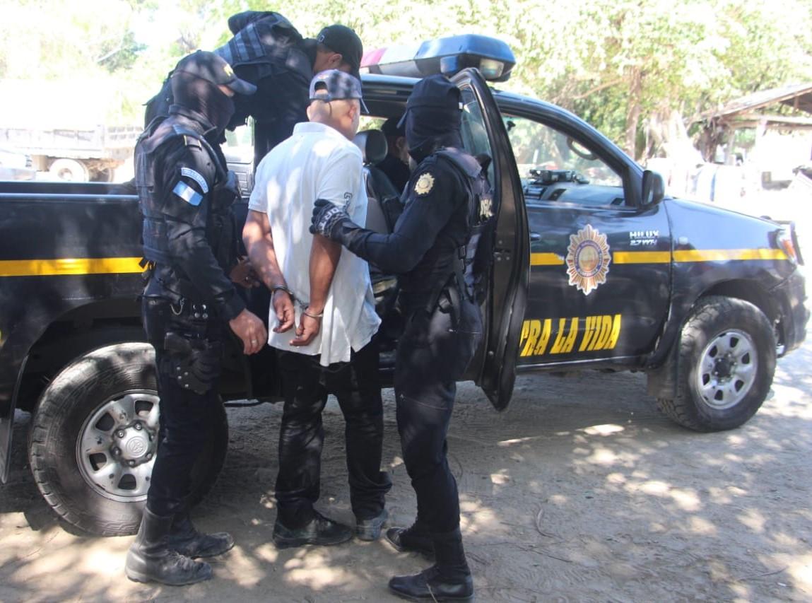 Luis Alfredo Franco Samayoa es sospechoso del crimen contra el precandidato a alcalde de Jalpatagua y su esposa. (Foto Prensa Libre: Mario Morales).