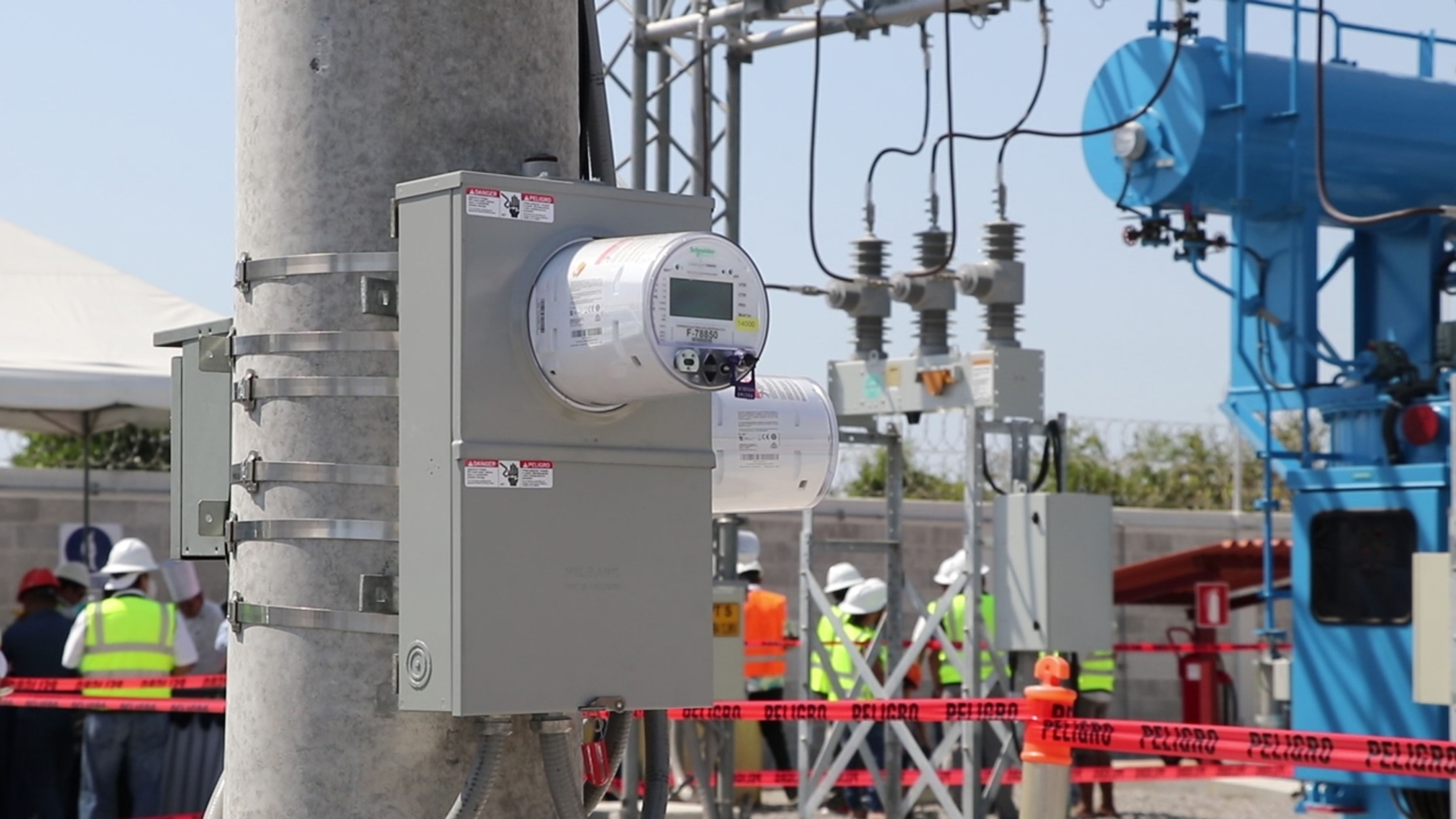 Autoridades justifican el incremento a la tarifa de la energía eléctrica pues aseguran que tuvieron gastos mayores a los programados en trimestre que termina.  (Foto Prensa Libre: Hilary Paredes)