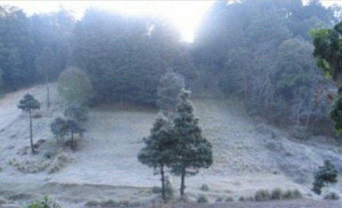 Este miércoles tuvo la madrugada más fría de la temporada