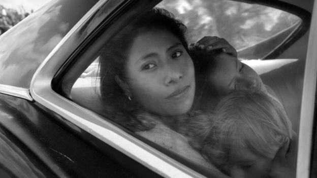 Yalitza Aparicio, una joven de origen mixteco, interpreta a Cleo, el personaje basado en la vida de Liboria Rodríguez (ALFONSO CUARÓN/NETFLIX)