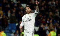 Sergio Ramos y el Real Madrid esperan de nuevo encontrar el camino correcto para el equipo. (Foto Prensa Libre: EFE)