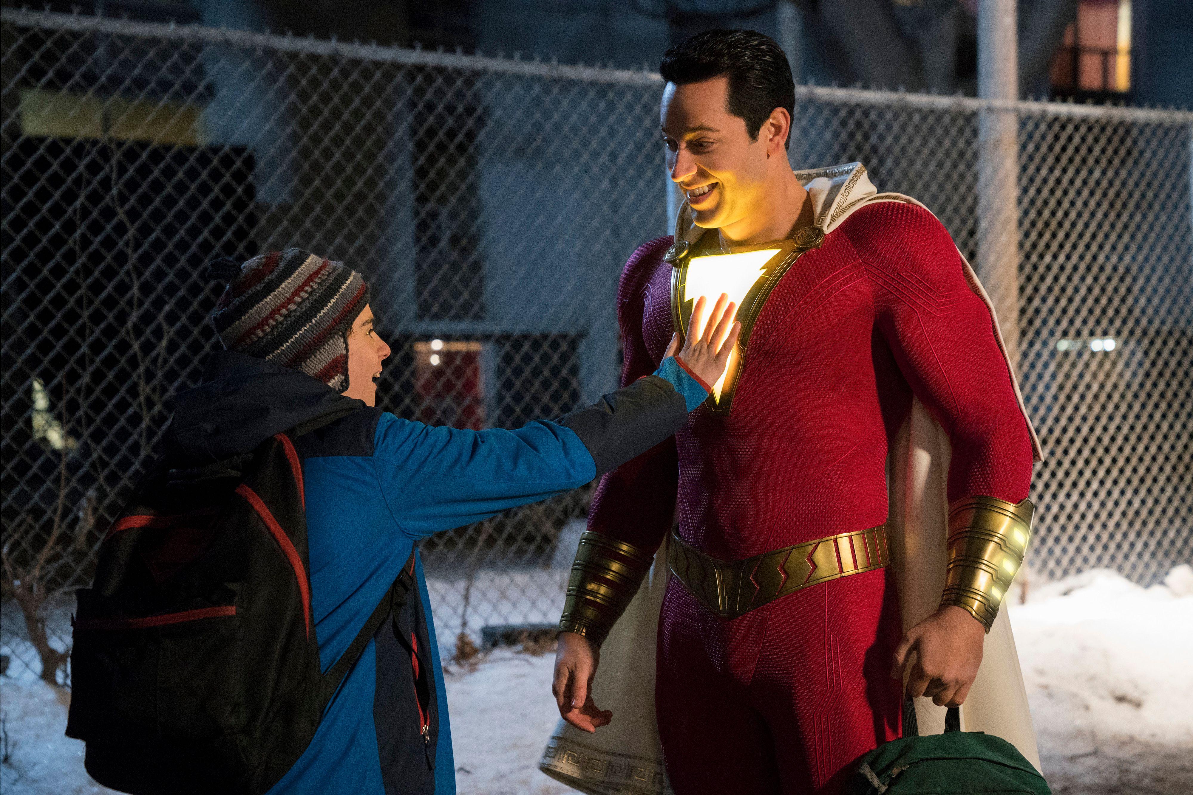 Tras su participación con Marvel, el actor Zachary Levi será el rostro de una estrella de DC.  (Foto Prensa Libre: Warner Bros)