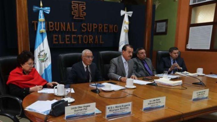 El TSE convocó a elecciones el 18 de enero. (Foto Prensa Libre: Hemeroteca PL)