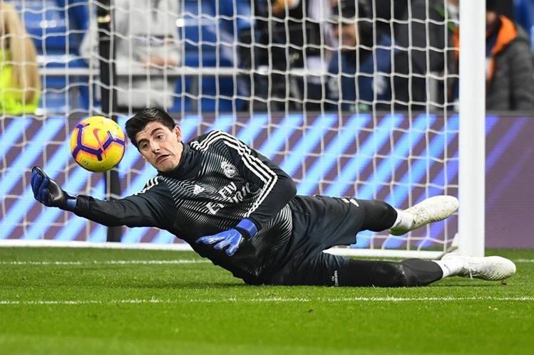 El portero del Real Madrid, Thibaut Courtois, se perderá el siguiente duelo debido a una lesión. (Foto Prensa Libre: AFP)