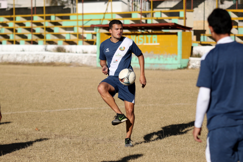 Daniel 'el Travieso' Guzmán es una de las mejores contrataciones del deportivo Chiantla para el Clausura 2019. (Foto Prensa Libre: Mike Castillo)