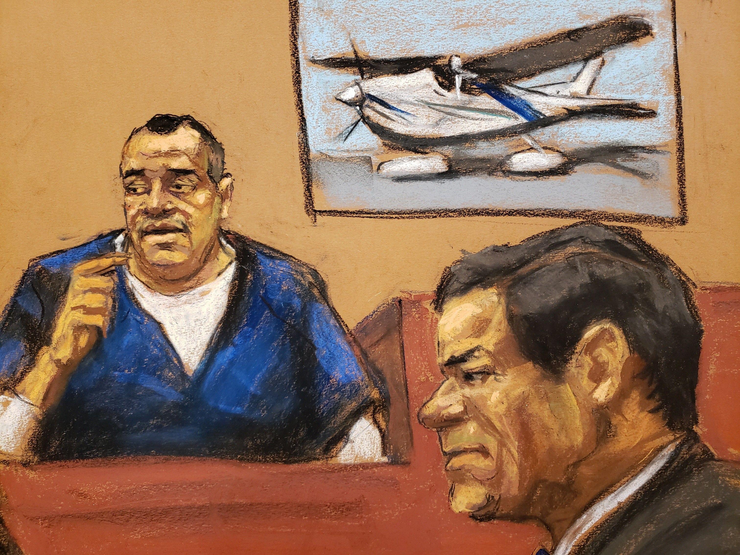 Imagen ilustrativa de Isaías Valdez, el último testigo en el caso del Chapo. (Foto Prensa Libre: EFE)