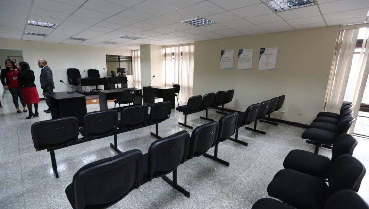 El nuevo Tribunal de Mayor Riesgo E estará en el piso seis de la Torre de Tribunales. (Foto Prensa Libre: Carlos Hernández)