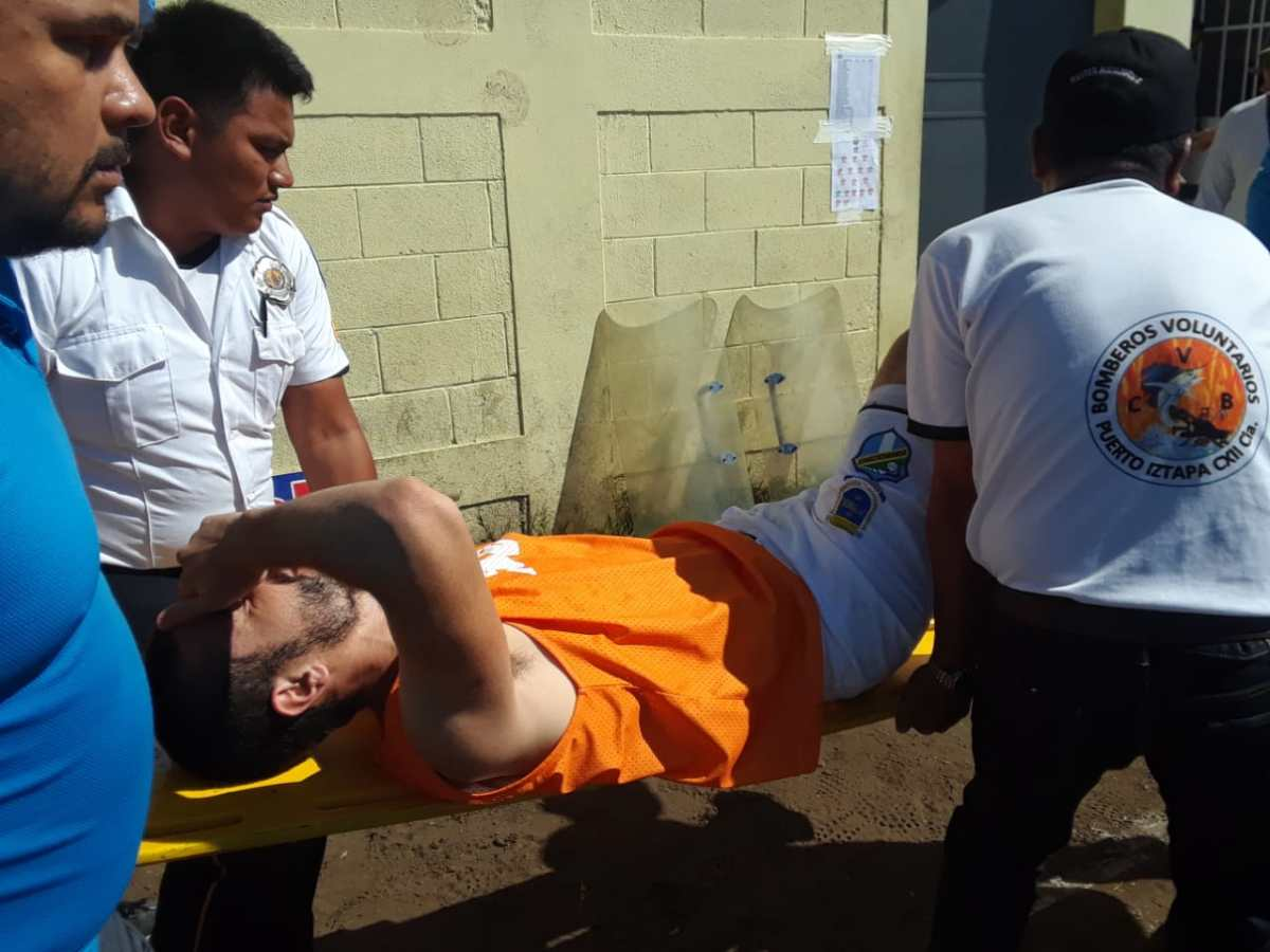 Maximiliano Lombardi ha sido intermitente por sus constantes lesiones con Comunicaciones