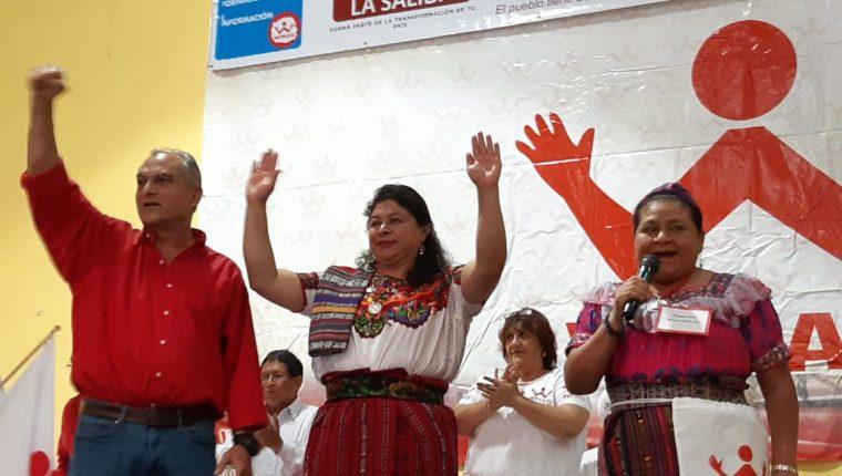 Winaq: Manuel Villacorta y Liliana Hernández.