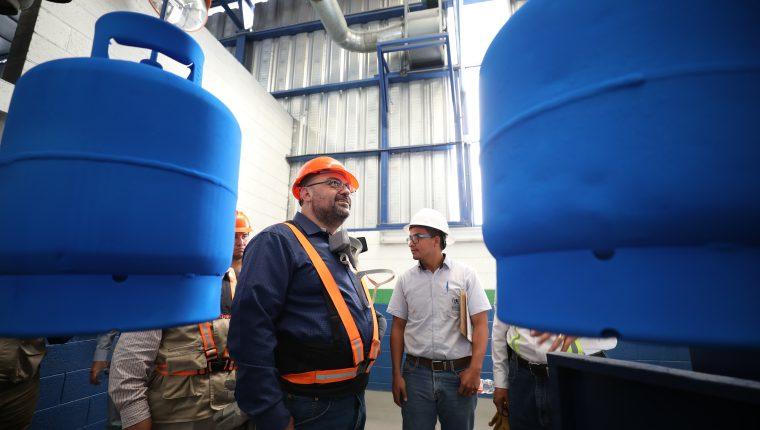 Diaco informó que el valor del gas propano bajará la semana próxima a consecuencia de un incremento en la oferta del mismo en el mercado internacional. (Foto Prensa Libre: Cortesía Mineco)