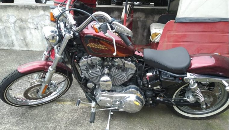La moto Harley Davidson fue adquirida en el 2013 con dinero de actividades ilícitas, dijo la Fiscalía. (Foto: MP)