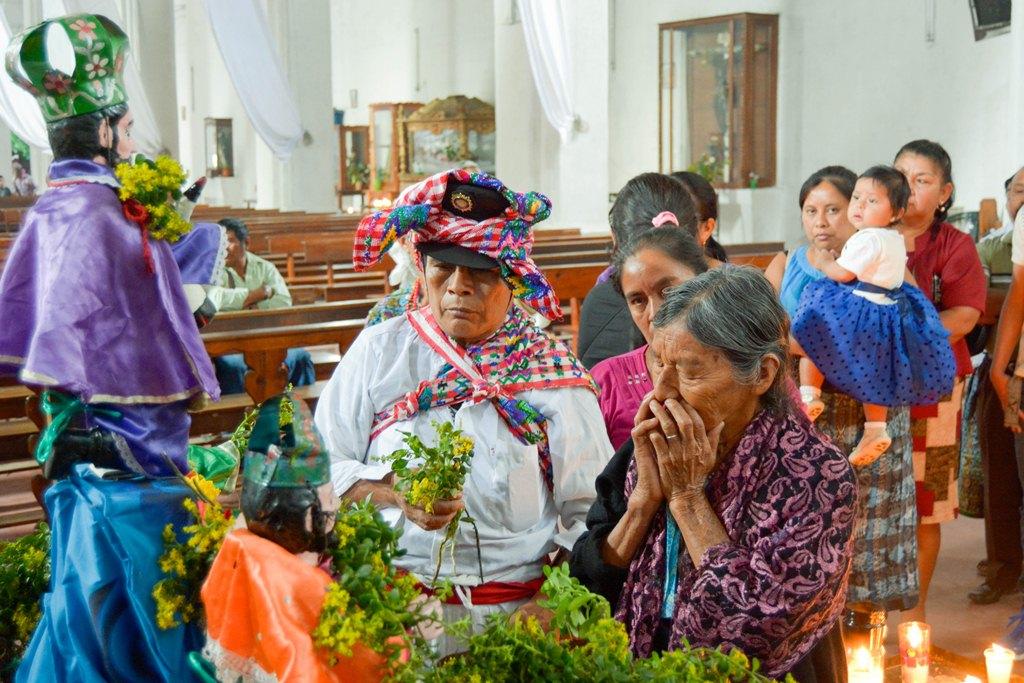 Pobladores celebran Día de Reyes en Rabinal