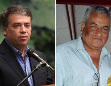 Edwin Escobar y Enrique Arredondo dicen contar con el apoyo mayoritario de los alcaldes para presidir la Anam. (Foto Prensa Libre: Hemeroteca PL)