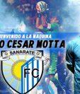 Sanarate le dio la bienvenida a su nuevo portero, Paulo César Motta. (Foto Prensa Libre: Sanarate FC)