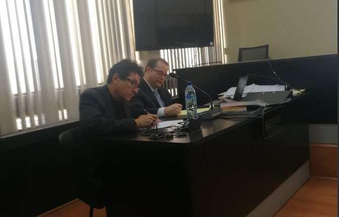 El 21 de diciembre de 2018, el empresario de la construcción José Mynor Palacios quedó ligado a proceso penal en el caso Construcción y Corrupción fase 2. (Foto Prensa Libre: Andrea Orozco)