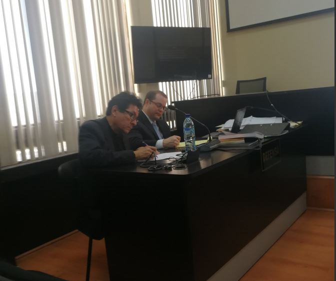 El empresario de la construcción José Mynor Palacios quedó ligado a proceso penal en el caso Construcción y Corrupción fase 2. (Foto Prensa Libre: Andrea Orozco)
