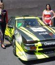 En La categoría Vintage competirá Fernando Saravia con su Toyota Célica. La acción comenzará el domingo a las 9 horas. (Foto Prensa Libre: Jeniffer Gómez)