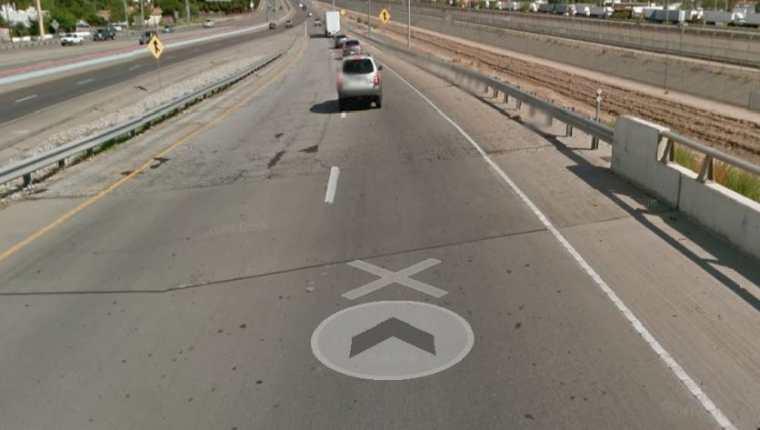 Esta es la carretera donde ocurrió el percance. (Foto: Google Maps)