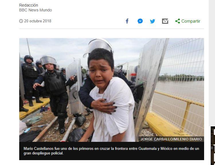 La cadena BBC Mundo reveló el 20 de octubre la historia de Mario Castellanos. (Captura de pantalla/sitio BBC News Mundo)