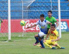 Suchitepéquez y Marquense protagonizaron en Mazatenango el partido que cerró la última fecha de la primera vuelta del Clausura 2018. (Foto Prensa Libre: Cristian Soto)