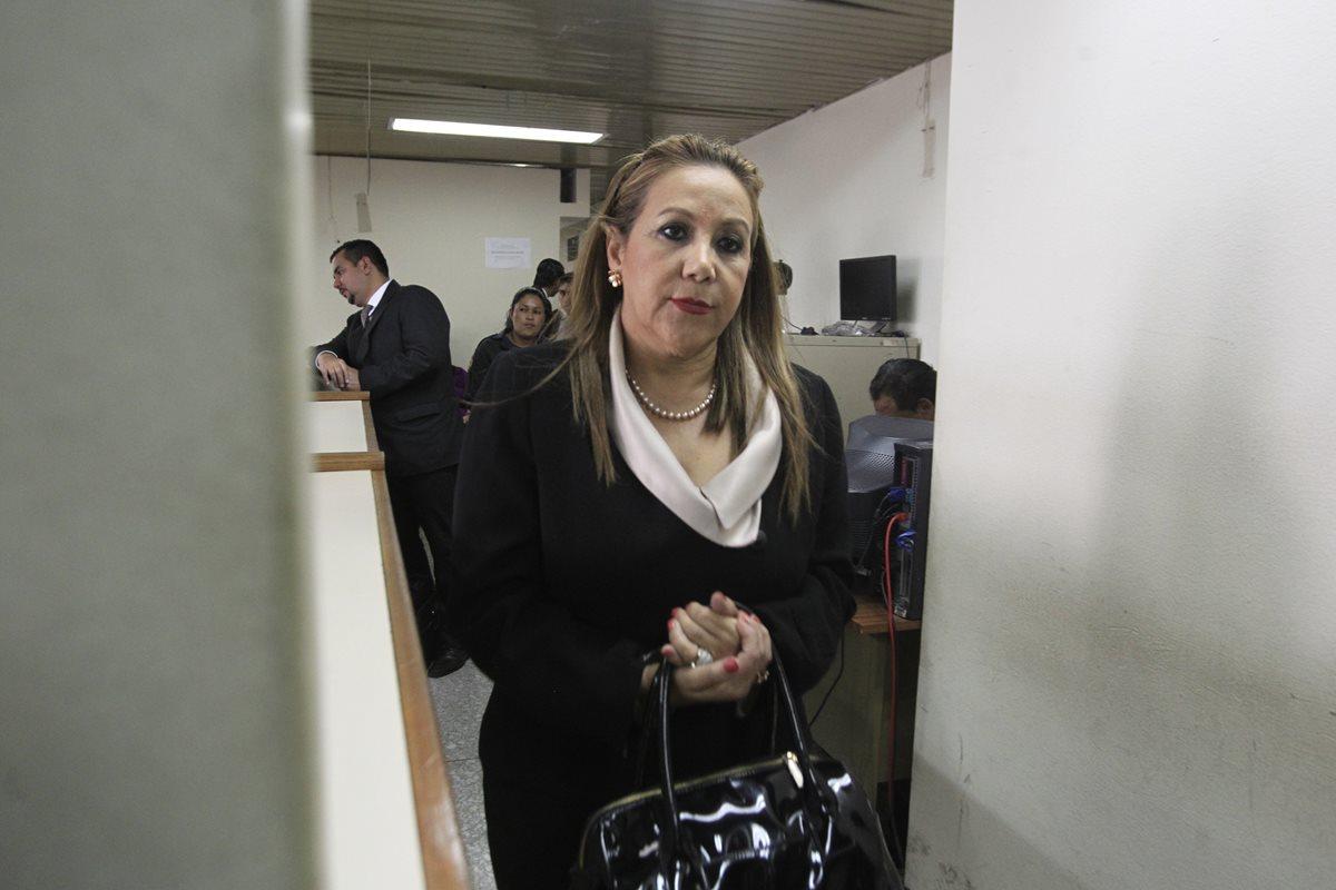 Blanca Stalling está procesada por dos delitos y permanece en prisión preventiva. (Foto Prensa Libre: Hemeroteca PL)
