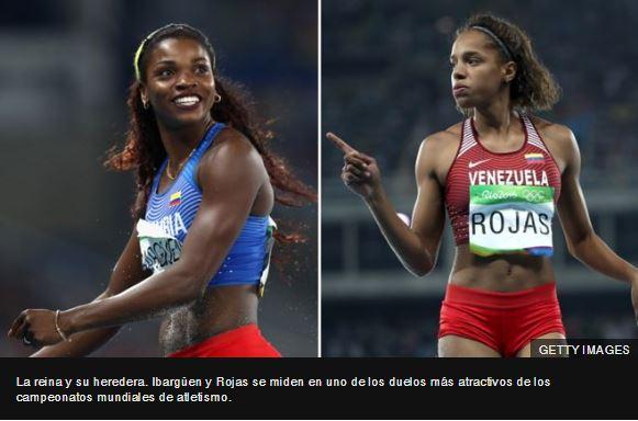 Colombia vs. Venezuela: por qué la lucha por el oro en triple salto entre Yulimar Rojas y Caterine Ibargüen es el verdadero gran duelo en los Mundiales de Atletismo de Londres