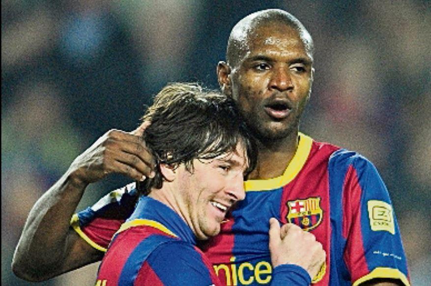 Éric Abidal expresó en sus redes sociales que Messi nunca le trató mal y con lo del video era porque no le gustaba verlo enfermo. (Foto Hemeroteca PL).