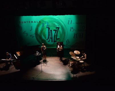 Imox Jazz representó a Guatemala en el 17 Festival Internacional de Jazz. (Foto Prensa Libre: Axel Vicente)