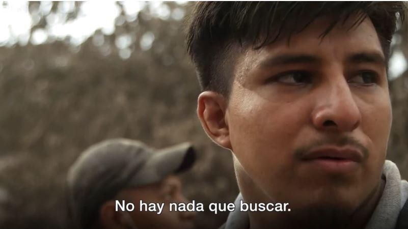 Eddie Santiago desconoce el paradero de su familia. (Foto Prensa Libre: BBC Mundo)