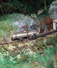 El Ferrocarril de Los Altos funcionó por un período de tres años y medio, aproximadamente. (Foto Prensa Libre: Carlos Ventura)