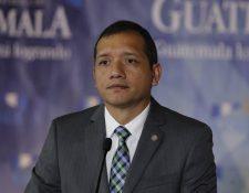 Francisco Rivas Lara, ministro de Gobernación. (Foto Prensa Libre: Hemeroteca PL)