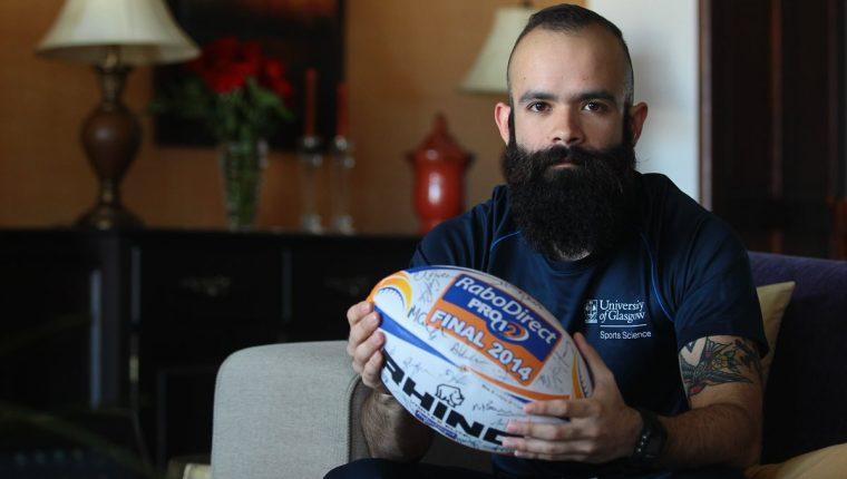 Carlos A. Ramírez es científico del deporte. Foto Prensa Libre: Álvaro Interiano