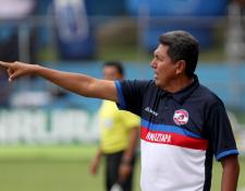 El entrenador guatemalteco Francisco Melgar espera que su equipo Iztapa, continúe con el buen momento que atraviesa. (Foto Prensa Libre: Carlos Vicente)