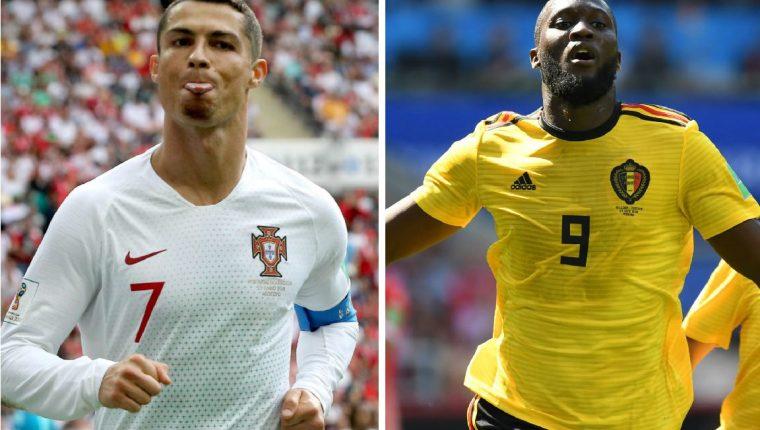 Cristiano y Lukaku han sacado la casta por sus selecciones en el Mundial de Rusia que solo lleva una semana de acción. (Foto Prensa Libre: TodoDeportes)