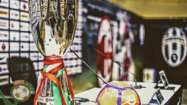 Desde hace varios años la supercopa de Italia se disputa fuera de territorio italiano. (Foto Prensa Libre: Redes)