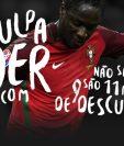 Este es el sitio oficial creado por aficionados que piden que se disculpen con Eder, anotador del gol del título de la Eurocopa, por dudar de él. (Foto Prensa Libre: www.desculpaeder.com/)