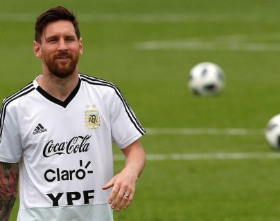 El delantero Lionel Messi pidió a la Federación de Argentina que no lo convoquen en los próximos partidos amistosos. (Foto Prensa Libre: Hemeroteca PL)