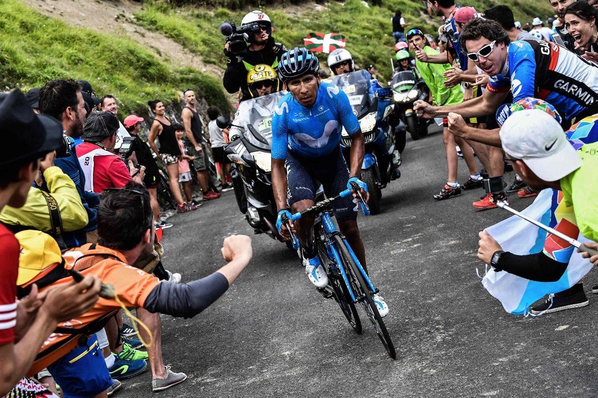 Nairo Quintana muestra su corazón luchador y gana la etapa en el Tour de Francia