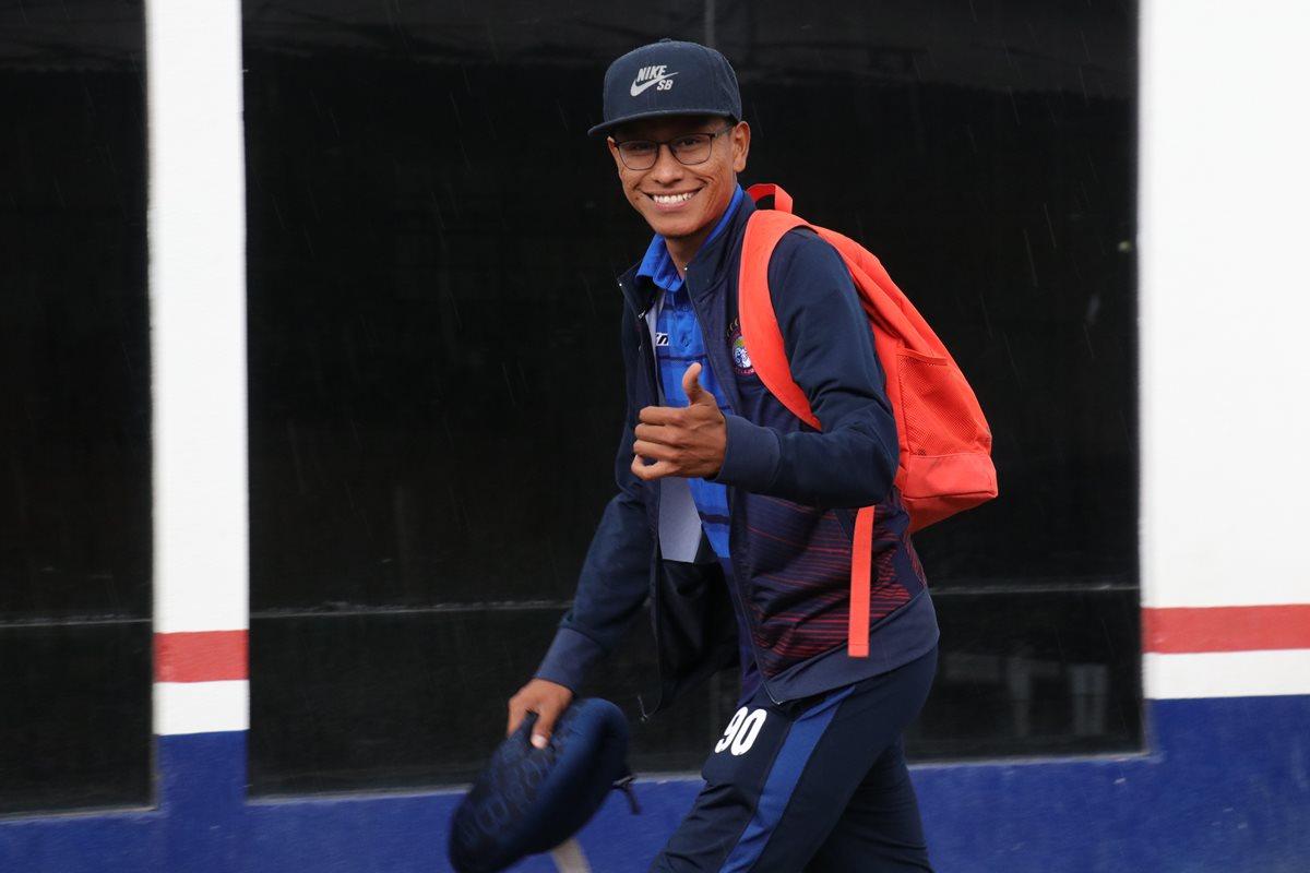 Jorge Ortiz llegó a Xelajú en el Clausura 2016, hizo 19 goles en 91 partidos. (Foto Prensa Libre: Raúl Juárez)