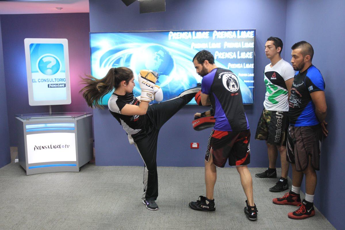 Es hora de practicar artes marciales mixtas