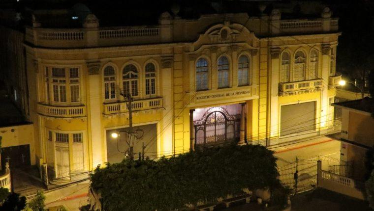 El Registro General de la Propiedad, ubicado en la zona 1, cuenta con un museo (Foto Prensa Libre: cortesía).