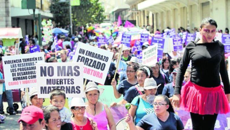 La forma más común de violencia contra la mujer es la física. (Foto Prensa Libre: Hemeroteca PL)