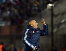 El técnico argentino Jorge Sampaoli está obligado a buscar la victoria frente a Perú, en el camino a Rusia 2018. (Foto Prensa Libre: Hemeroteca PL)