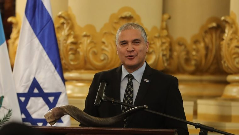 Mattanya Cohen es embajador de Israel en Guatemala desde septiembre de 2017. (Foto Prensa Libre: Hemeroteca PL)